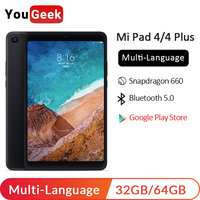 Xiaomi Mi Pad 4 MiPad 4 Plus PC Tablet Wifi LTE 8 10.1 Snapdragon 660 6000mah Battery 16:10 13.0MP + 5.0MP Android Tablets