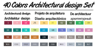 40 Architectural Set