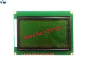 Image 3 - 12864 3.3v 5v ST7920 SPI module daffichage lcd vert bleu 12864B V2.0 1 pièces livraison gratuite