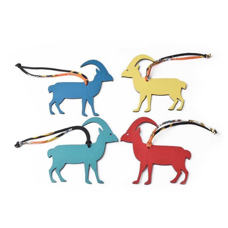 Mode à la main dessin animé antilope bois moule coupe 2020 bricolage en cuir ornement en acier moule adapté à la machine de découpe