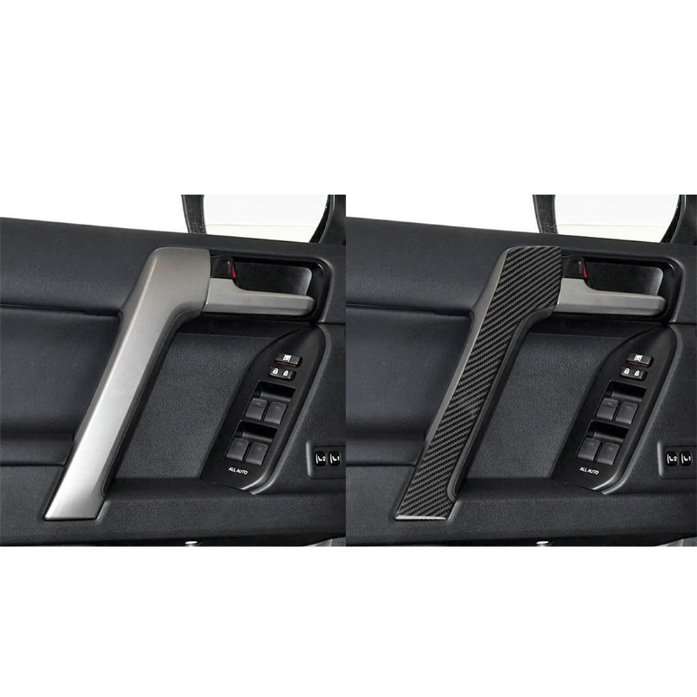 Купить с кэшбэком Chrome Car Multi Function Air Conditioning Frame Rearview Mirrors Frame Cover Trim Strip Stickers For Toyota Land Cruiser Prado
