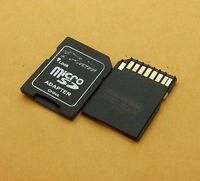 DHL/EMS 500 قطعة عالية الجودة البلاستيك النقش بالليزر TF مايكرو SD إلى SD محول Conversion A8|ملحقات البطارية وملحقات الشاحن|الأجهزة الإلكترونية الاستهلاكية -