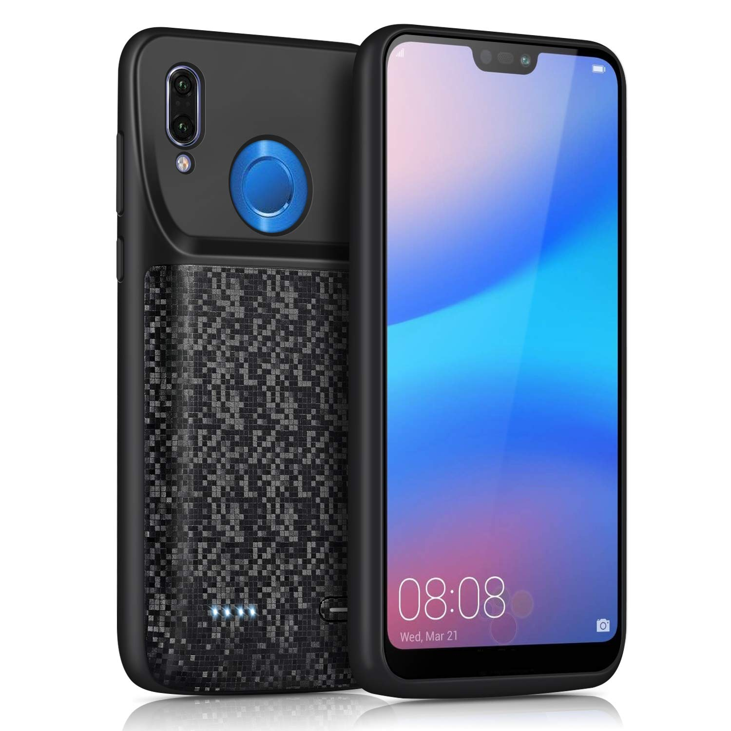 5000mah Shockproof <font><b>battery</b></font> charger <font><b>case</b></font> For Honor 8 9 10 Lite External charger Cover Backup power For <font><b>Huawei</b></font> P30 <font><b>P20</b></font> Lite Pro image