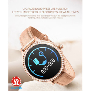 Image 4 - Fashion SmartWatch Ladies Smart Watch Female Physiological Period Reminder Sports Fitness Bracelet for Aoole Android Women Watch