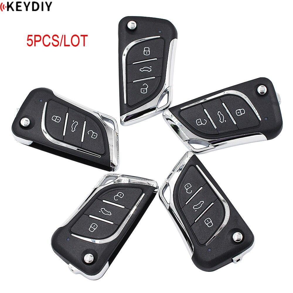 5 шт./лот, KEYDIY оригинальный KD900K/D900 +/URG200/KD-X2 программист серии B пульт дистанционного управления B30 для ключа автомобиля