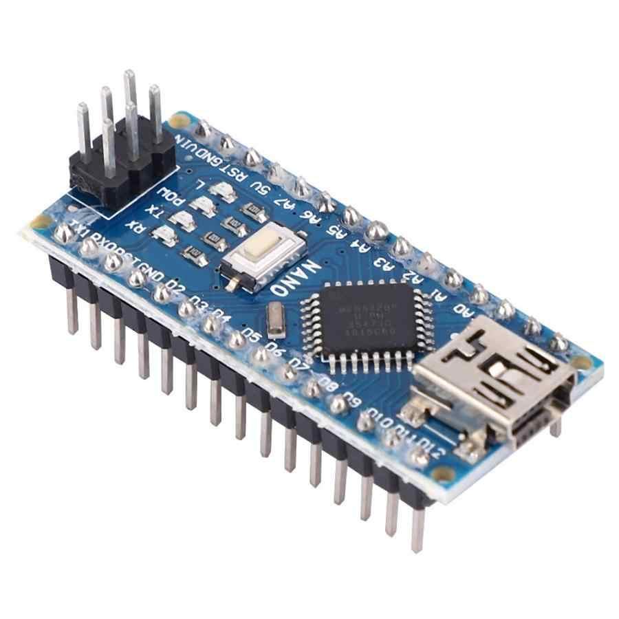 Rockyin 5pcs Nano V3.0 ATmega328P Micro Controller Board Module 5V 16M for Arduino