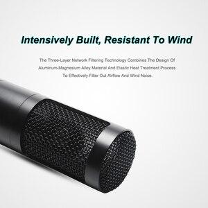 Image 3 - Metalen Condensator Microfoon Kit Voor Pc Computer Professionele Microfoon Met Stand Record Thuis Voor Omroep Karaoke