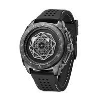 Ruimas Mens Watches Gifts Quartz Watch Outdoors Military Wristwatch Clock Rubber Strap Relojes Para Hombre Clock 2019