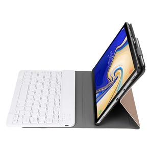 Image 5 - Alesser, para Samsung Galaxy Tab A 10,1 2019, funda abatible para Samsung Galaxy Tab A 10,1 2019, funda para tableta teclado inalámbrico Bluetooth