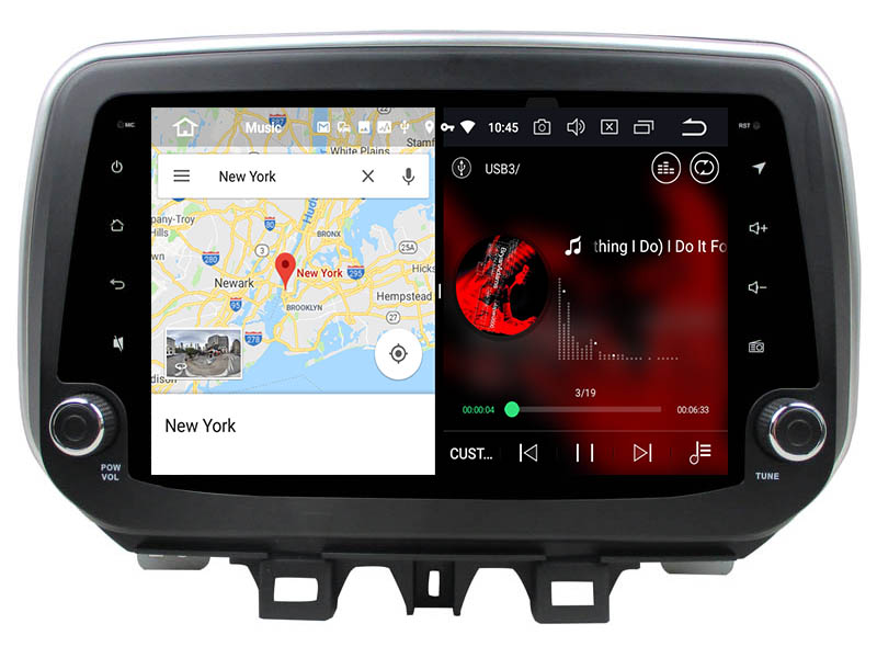 hyundai tucson ix35 android 8.0 head unit 2018 2019 3