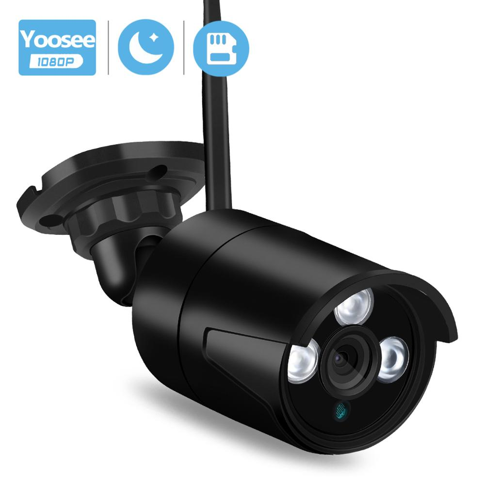 BESDER Yoosee IP Camera WiFi Full HD 1080P Wireless SD Card Slot Security Camera Metal Bullet Outdoor Night Vision CCTV Cameras