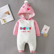 Комбинезон для новорожденных мальчиков и девочек iyeal осень