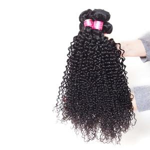 Оптовая Продажа афро кудрявые человеческие волосы пучки предложения 6 шт./лот не-remy волосы для наращивания перуанские бразильские волосы пл...