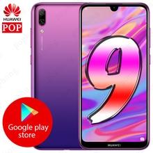 "Küresel Rom Huawei 9 cep telefonu 6.26 ""Android 8.1 Octa çekirdek Huawei Y7 Pro 2019 akıllı telefon 4000mAh çift kart çift standı"