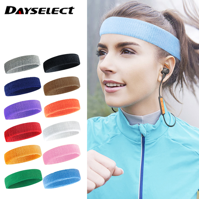 Sports Headband Breathable Sweat Absorbent Towel Sweat Guide Belt Rding Running Fitness Dance Antiperspirant