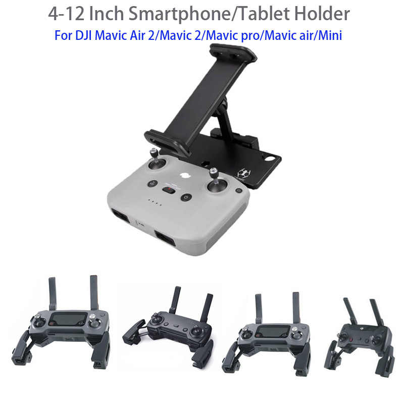 DJI Remote Control Phone Tablet Extension Stand,4-12 Inch Smart Phone iPad Mount Holder Bracket for DJI Mavic Mini 2//Mavic Mini//Mavic Air 2//Mavic 2 Pro//Zoom//Spark
