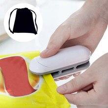 New Package Heat Sealer Closer 1PC Portable Sealing Tool Heat Mini Handheld Plastic Bag Sealer #R25 portable heat plastic bag sealer tea bag sealer coffee bag sealer sealing length 200mm ys ary464