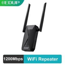 Eding – répéteur WiFi double bande 1200/5GHz, 2.4 mbps, routeur sans fil 802.11AC, Booster de Signal pour la maison, amplificateur de Port Wlan