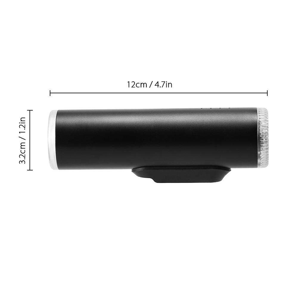 Induction Bicycle Front Light Set USB Rechargeable Smart Headlight  380-480Lumen 4 Mode LED Bike Lamp Cycle FlashLight
