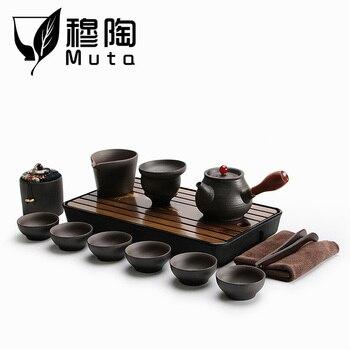 Juego de tazas de té tazas kubek, tetera, porcelana, té, tetera, juego...