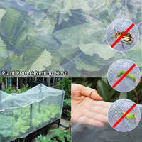 Large Garden Crop Plant Protection Net Greenhouse Netting Bird Net Pest Insect Animal Vegetable Care Big Mesh Nets 2.5x10m