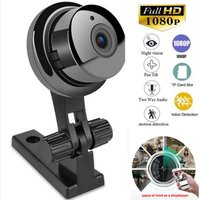 Güvenlik ve Koruma'ten Gözetim Kameraları'de V380 kablosuz Mini WIFI IP kamera HD 1080P akıllı ev güvenlik kamerası gece görüş ağ Hd akıllı kablosuz kamera