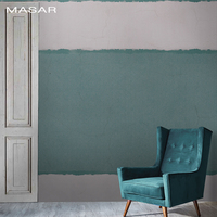 MASAR Industrial style old murals color lines living room sofa bed background wallpaper simple fashion Stripe