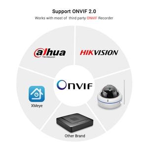 Image 2 - HD1080P Wifi kamera iCSee ONVIF kablolu kablosuz IP kamera Vandal geçirmez su geçirmez açık kamera ses kayıt RTSP Xmeye bulut