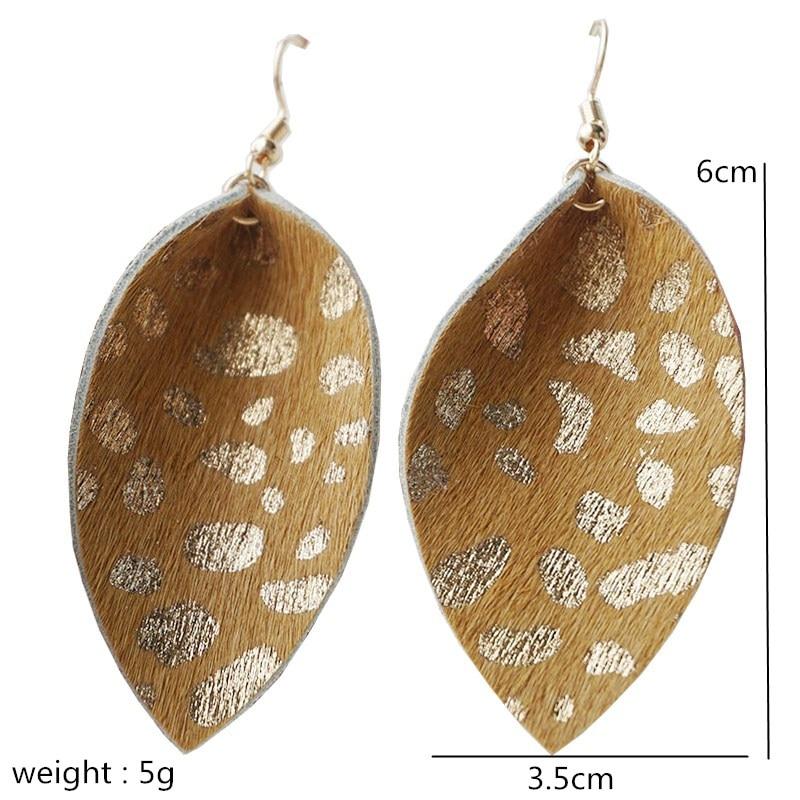 Long Fashion Leaf Earrings for Women   1
