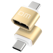 DM адаптер USB type C к USB 2,0 адаптер Thunderbolt 3 type-C адаптер OTG кабель для Macbook pro Air samsung S10 S9 USB OTG