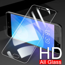 9H Tempered Glass For Meizu C9 Pro M8 Lite Note 8 9 Screen Protector Meizu M8C V8 X8 Pro 6 7 Plus Protective Glass Film Case(China)