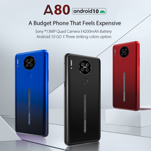 Blackview A80 Waterdrop-Screen 16GB 2GB WCDMA/GSM/LTE Fingerprint Recognition/face Recognition