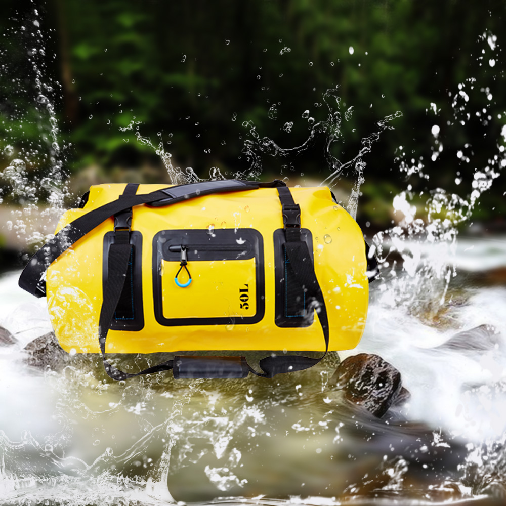 50L 70L 120L Waterproof Shoulder Handle Bag Dry Bag With Fully Welded Waterproof Protects Against Water Dust And Roam Grime