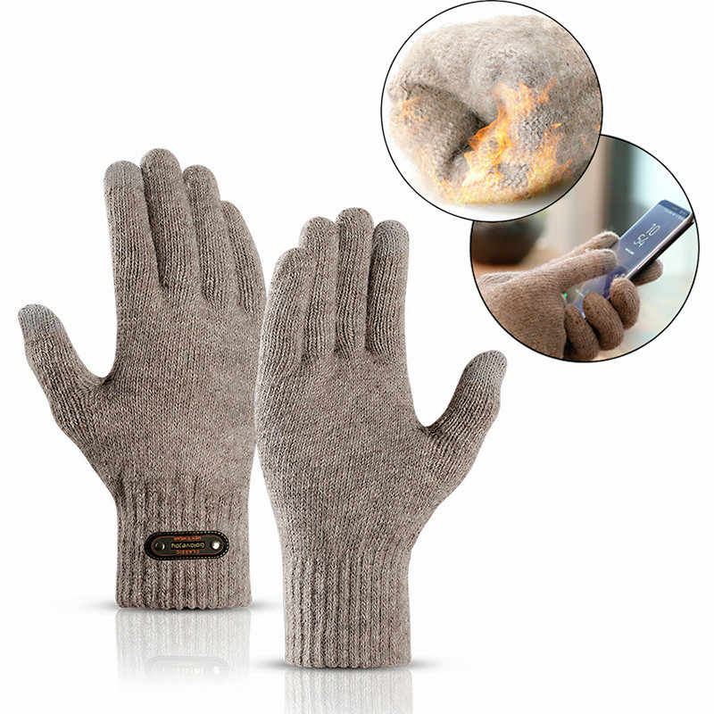 Winter Warm Running Gloves Wear-Resistance Touch Screen Skiing Cycling Gloves Unisex Sports Gloves