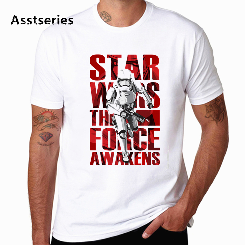 2020 New Star Wars Men's T shirt Harajuku Summer Round Neck Casual Tshirt Novel Streetwear Fighting Soft Printed T-shirt image