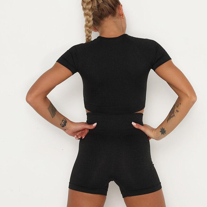 H9347362e350f4af3bd9a2b0bb92cd3cbX Kaminsky 14 Colors High Waist Seamless Leggings For Women Solid Push Up Leggins Athletic Sweat Pants Sportswear Fitness Leggings