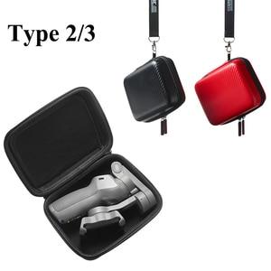 Image 3 - PU/Nylon DJI Osmo Mobile 3 poche cardan Mini housse de transport sac de rangement pour DJI Osmo Mobile 3 accessoires