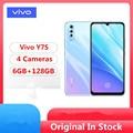 Vivo Y7S смартфон с 6,3-дюймовым дисплеем, процессором Helio P65, ОЗУ 6 ГБ, ПЗУ 128 ГБ, 16 МП, Android 9,0, 6,38x1080