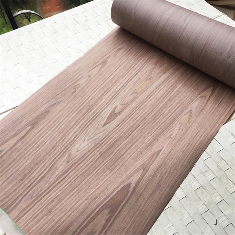 Technical Veneer Sliced Wood Engineering Veneer E.V. 62cm X 2.5m Light Walnut C/C