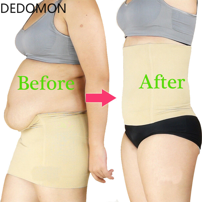 Slimming Belt Lose Weight Slimming Lumbar Sheath Flat Stomach Abdominal Nylon Shapewear Anti Cellulite Slim Patch Weight Loss