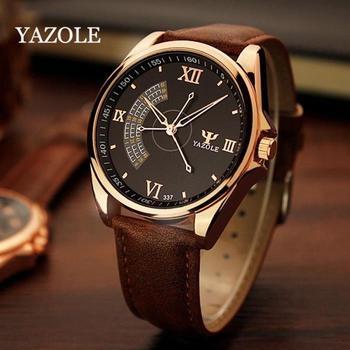 YAZOLE Men Watch Top Luxury Brand Sport Watches Mens Quartz Wristwatch Male Clock Relogio Masculino YZL337 - sale item Men's Watches
