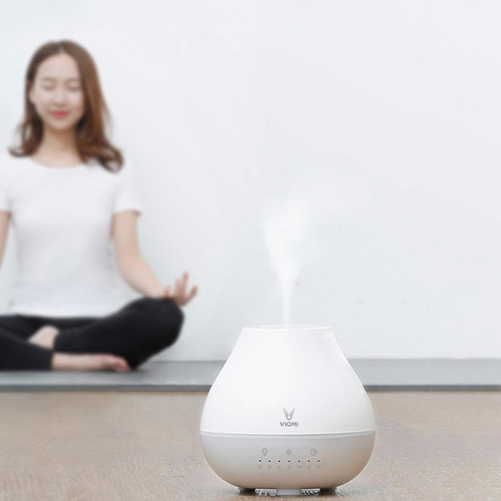 VIOMI Mini Air Humidification Dustfall Mute Aromatherapy Ultrasonic Oil Diffuser Humidifier Home Bedroom From Youpin