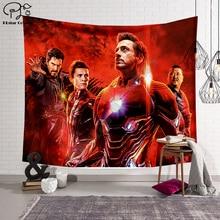 цена Black panther/The Avengers/Thanos Blanket Tapestry 3D Printing Tapestrying  Rectangular Home Decor Wall Hanging New style 3 онлайн в 2017 году