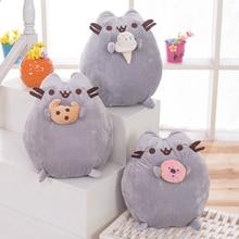 25cm Cute Push een Cat Plush Toys Japanese Plush Pillow Stuffed Animals