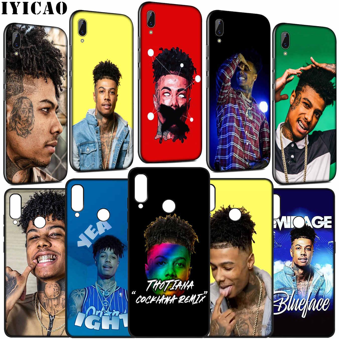 Blueface реперские кепки мягкий чехол для телефона huawei Y9 Y7 Y6 Prime 2019 2018 Honor 20 10 9 9X 8C 8X8 Lite