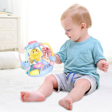Sound Flash Light Hand Grasping Rattle Teether Ball Sensory for Baby Toddler Developmental Play Activity Bells Educational Toys