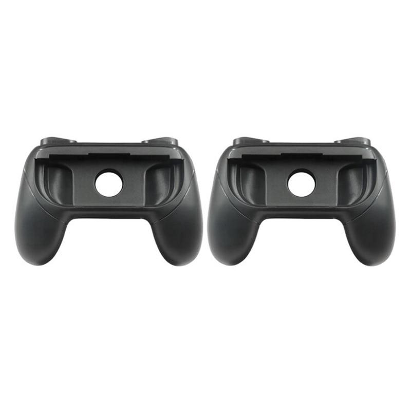 Griffe für Nintendo Schalter Freude-Con, Tragen-beständig Griff Kit für Schalter Freude Nachteile Controller, 2 Pack (Schwarz)