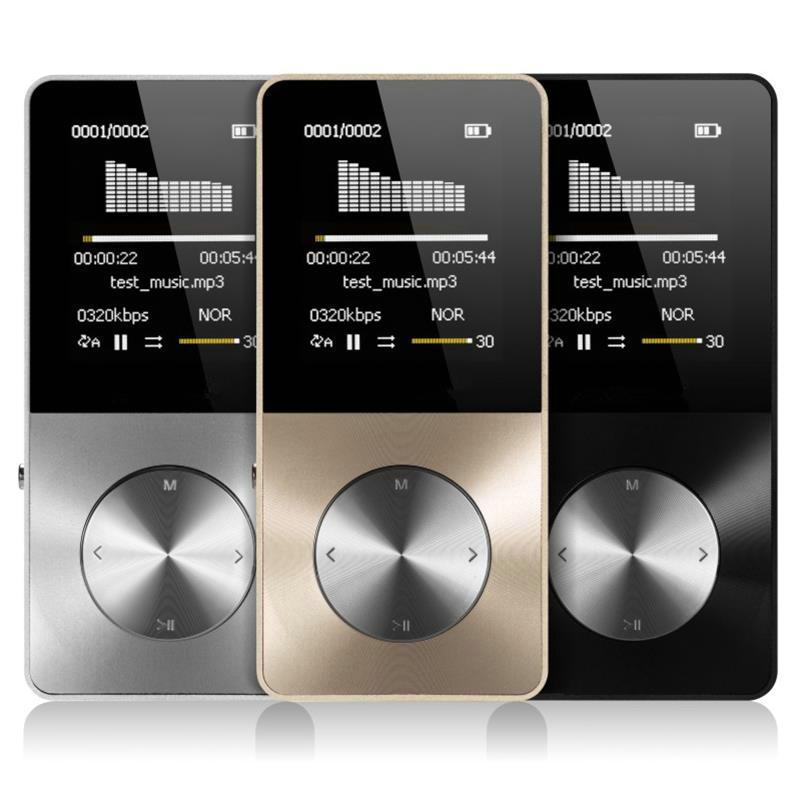 2020 alliage daluminium 16GB lecteur MP3 avec haut-parleur intégré lecteur HIFI mp 3 Walkman mp 4 lecteur vidéo sans perte musique mp4 lecteur
