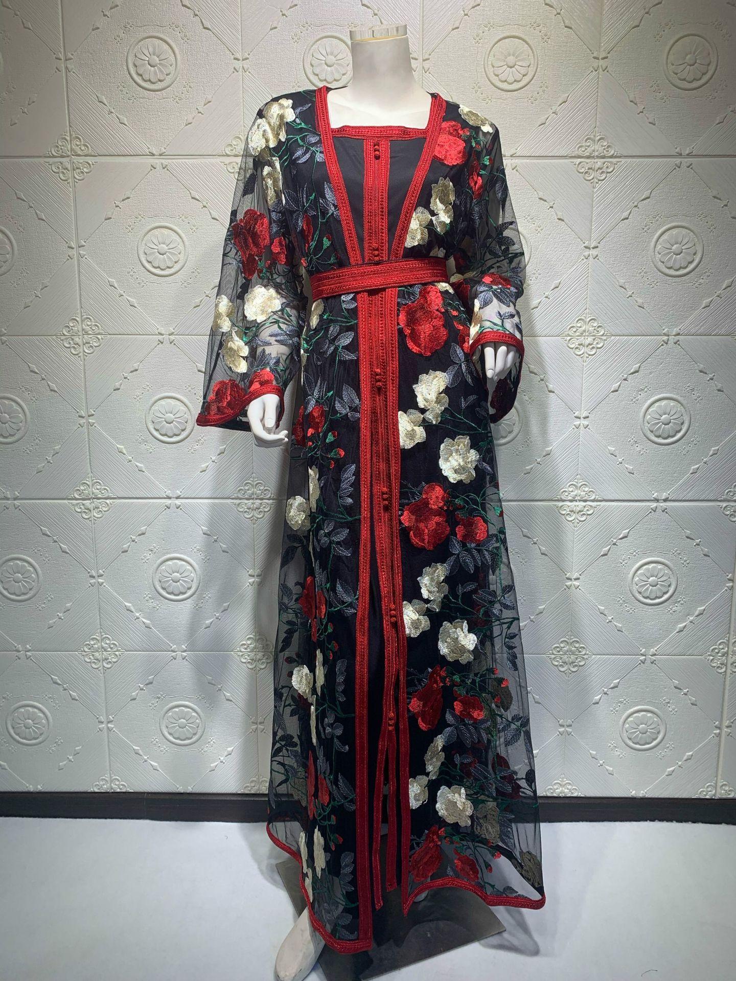 duas peças nobre vestido abaya turquia dubai