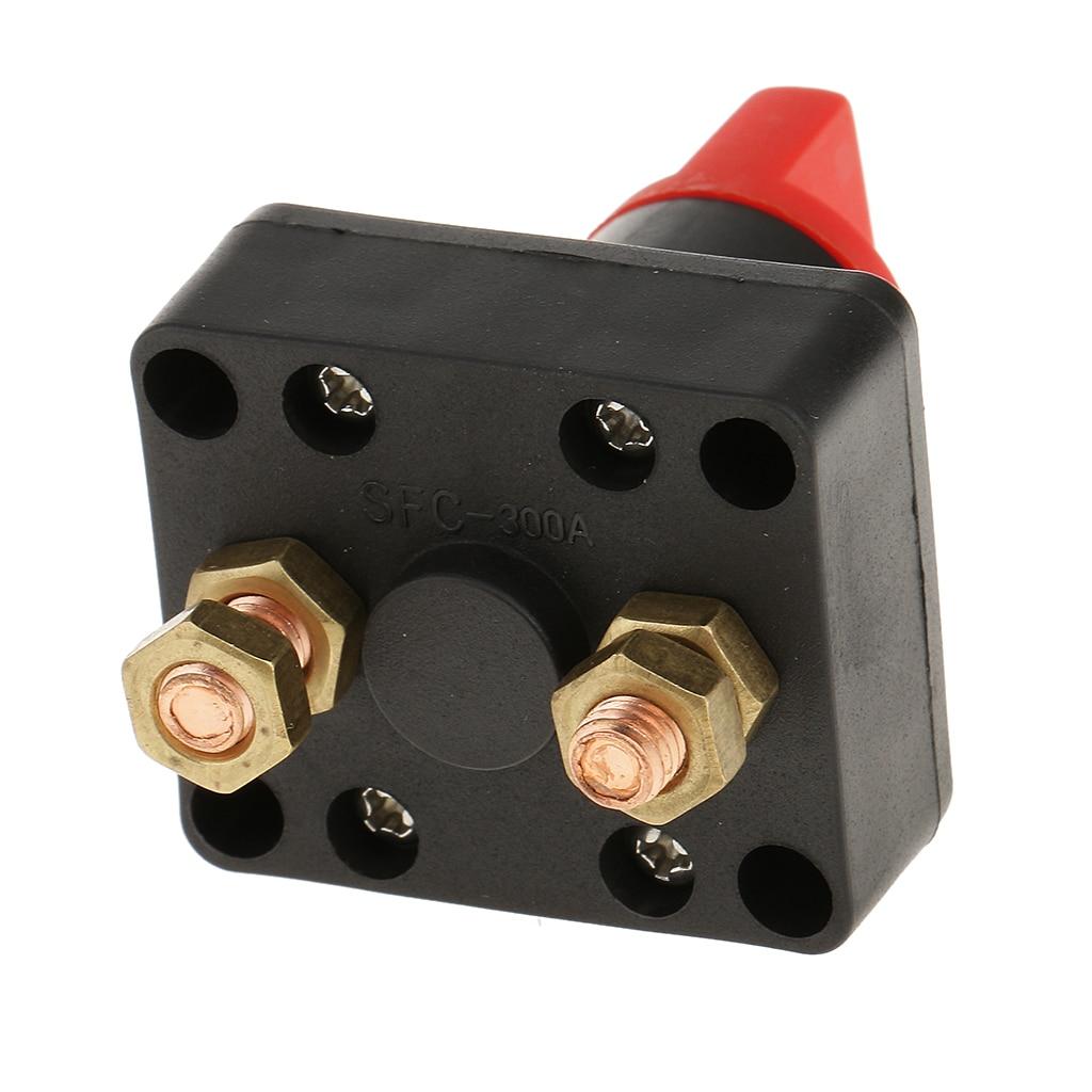 Batterij Disconnect Switch Batterij Isolator Master Schakelt Power Cut Off Switch Voor Marine Boot Auto Voertuigen